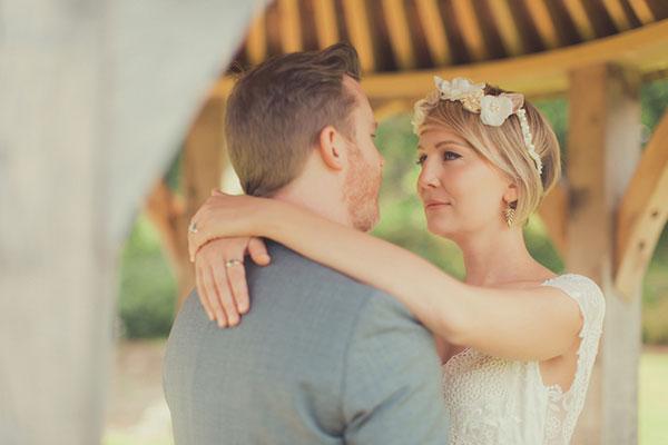 Julia wedding make up in Somerset
