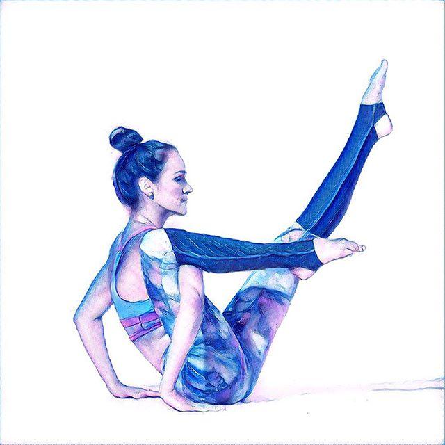 Sketch a Stretch #etchasketch #modernday #prisma #sunday #stretch #yoga