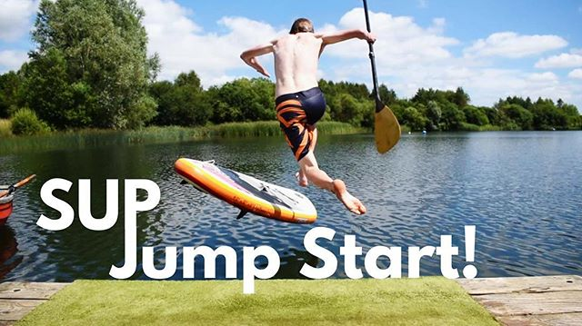 New Video!  THIS is how you make an entrance on a Stand Up Paddleboard! Check out the video here on my YouTube: www.bit.ly/supjumpstart , or click the link in my bio!  #sup #standuppaddleboard #paddleboarding #standuppaddle #supjump #fail #supfail #cotswoldwaterpark #cotswoldwaterparkhire #jump #lake #supfun #sayyesmore #yestribe #watersports