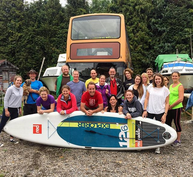 Love this photo! After the #LittlePaddle and Learn2SUP, friends old and new gathered at the Yes Bus for lunch and to see the awesome work Chris Barnes and the team have put into the bus-conversion! What a way to end the weekend! Honestly, if you see this photo and have even the slightest urge to join in, the paddling, little adventures or just hanging out with like-minded people, you're more than welcome here. Most of the people here didn't know each other before the weekend, and came on a whim. Get in touch and I'll send you some upcoming gatherings and events. Good things are happening, come be a part of it and spread the positivity 💙