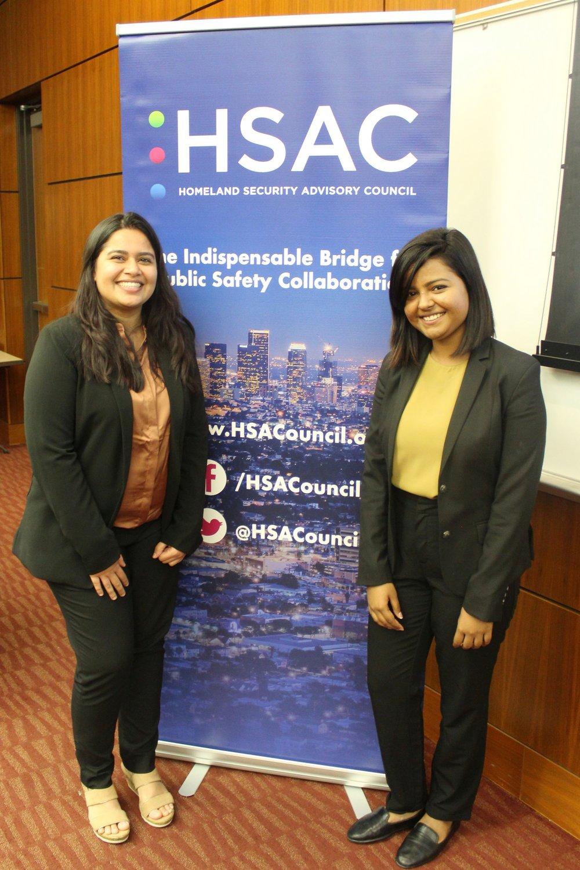 Third Place:  Tanya Shah, Upasana Paul (USC)