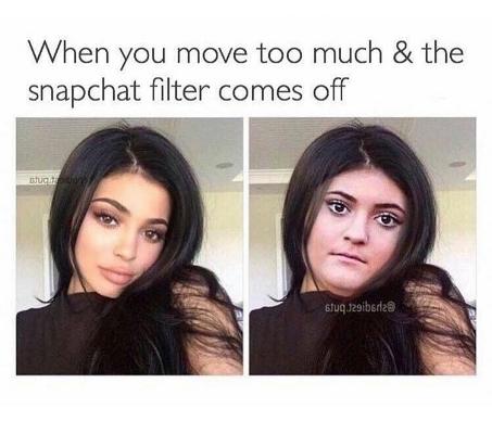 When Snapchat gives you a false sense of beauty