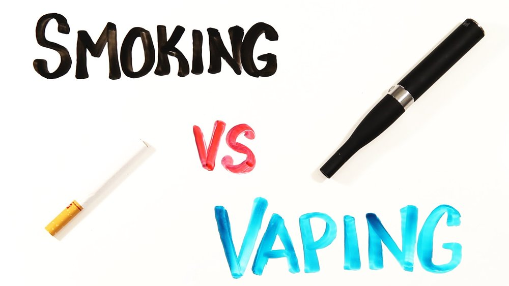 Image result for smoking vs vaping
