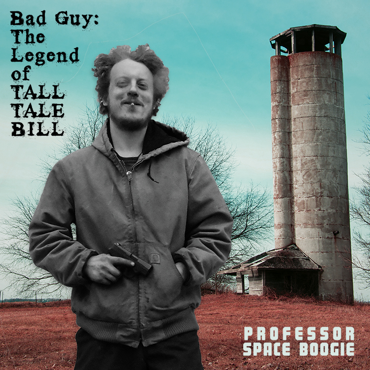 Professor Space Boogie // Bad Guy: The Legend of Tall Tale Bill   2015, digital photo manipulation