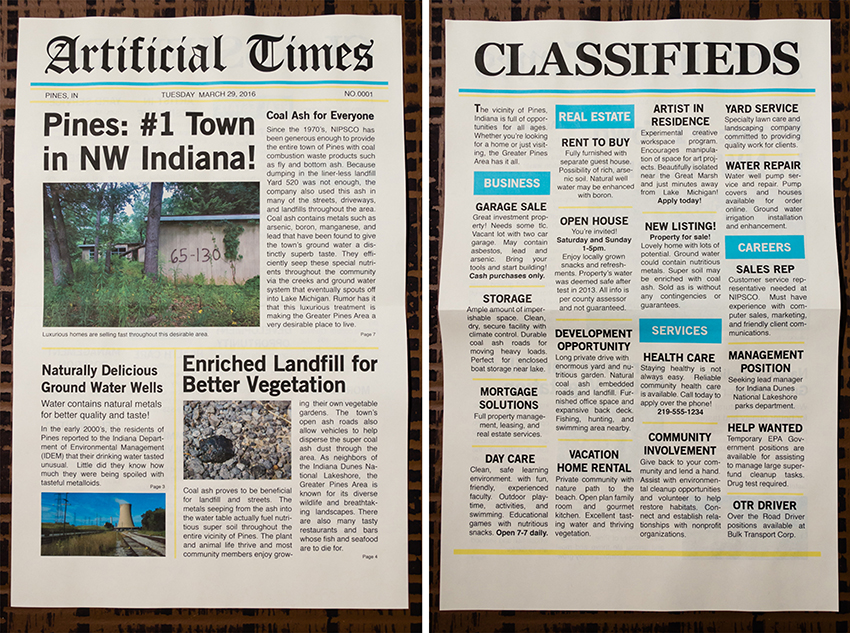 Artificial Times Newspaper