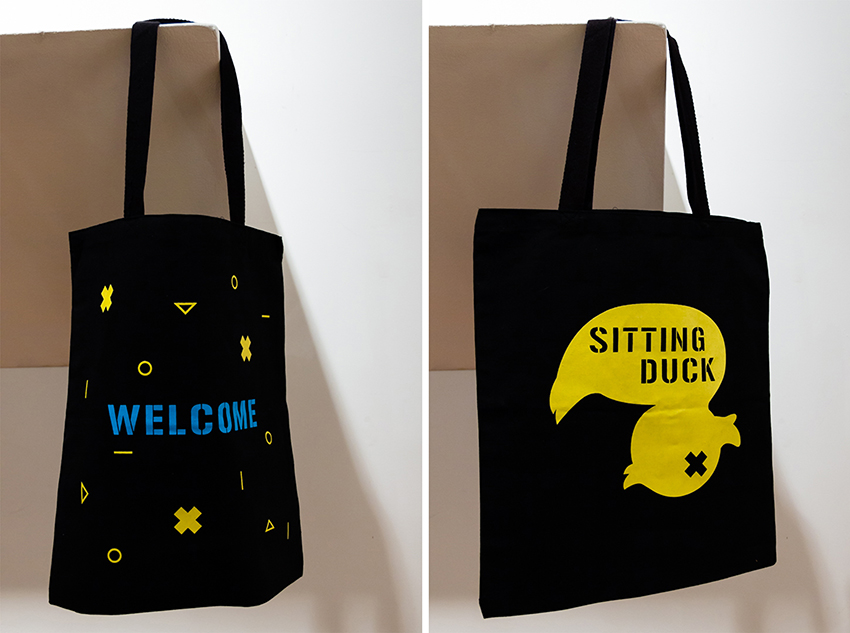 Screen Printed Welcome Bag