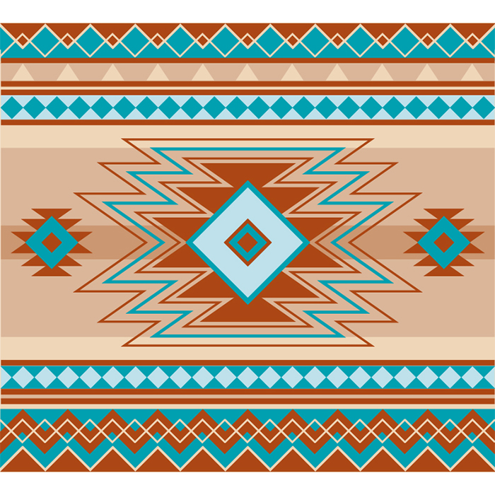 17/100: Native pattern inspired by AZ