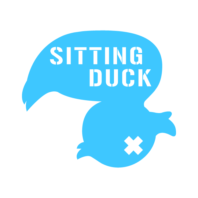 Sitting Duck Sitting Duck is a satirical solutions company whose current campaign aims to inform people about the understated issues of Pines, Indiana via sarcastic propaganda and impractical solutions. You can view more of this project here.