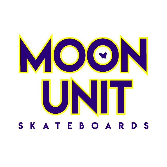 Moon Unit Skateboards Moon Unit Skateboards is a space-themed skateboard company thriving to expand the imaginations and diversity of our local skate community.