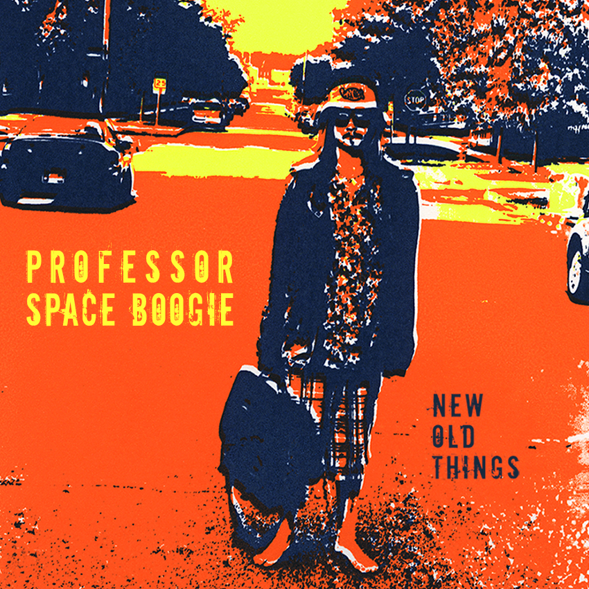 Professor Space Boogie // New Old Things 2015, silkscreen print (created 2011)