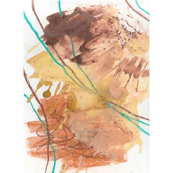 Desert Tones , 2018, (9x12) mixed media painting