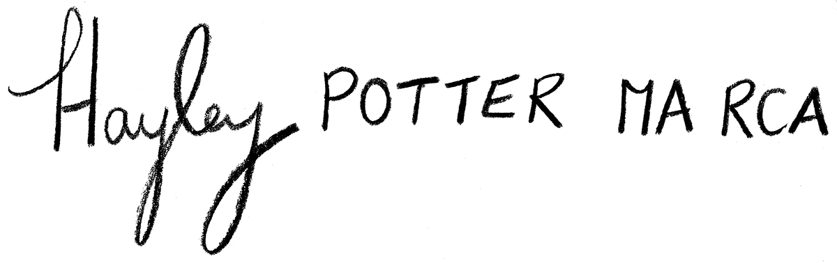 Hayley Potter MA RCA