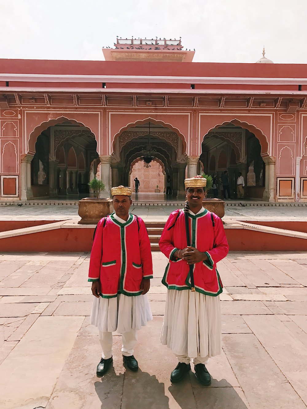 Gaurds at Jaipur's City Palace