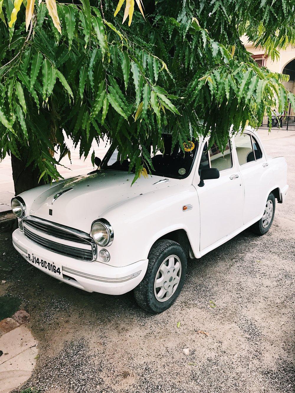 Cute Car at Jaipur City Palace