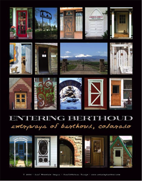 Entryways of Berthoud: Doors as Art. How could a person just walk on past?