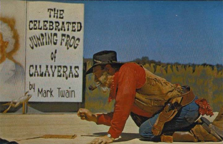 Jumping frogs have been celebrated in Calaveras County, Calif., since Mark Twain made them famous.