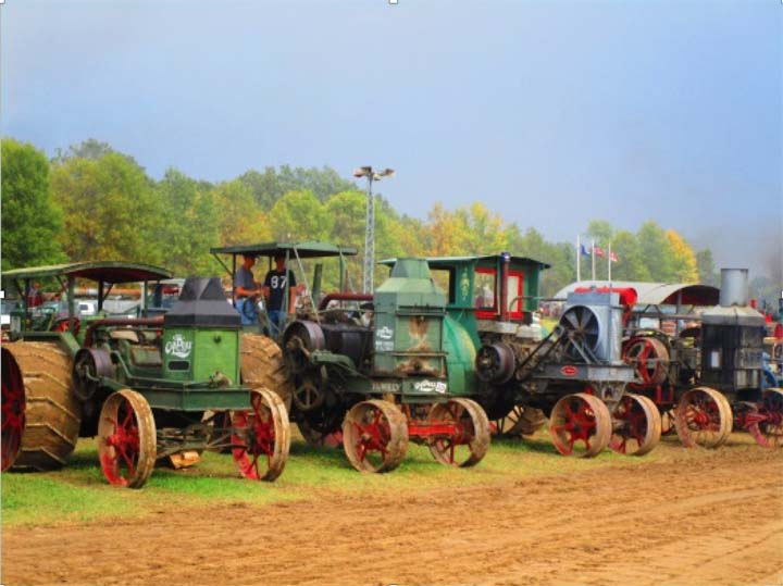 Threshing bees, county fairs, car shows, themed events -- what happens in your city, town, or nearby area?
