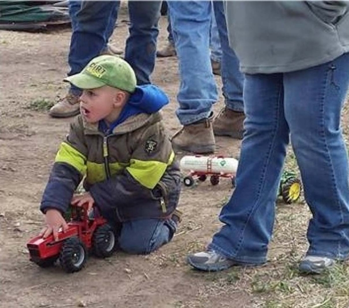 Going to auctions is a part of growing up in farming and ranching families.