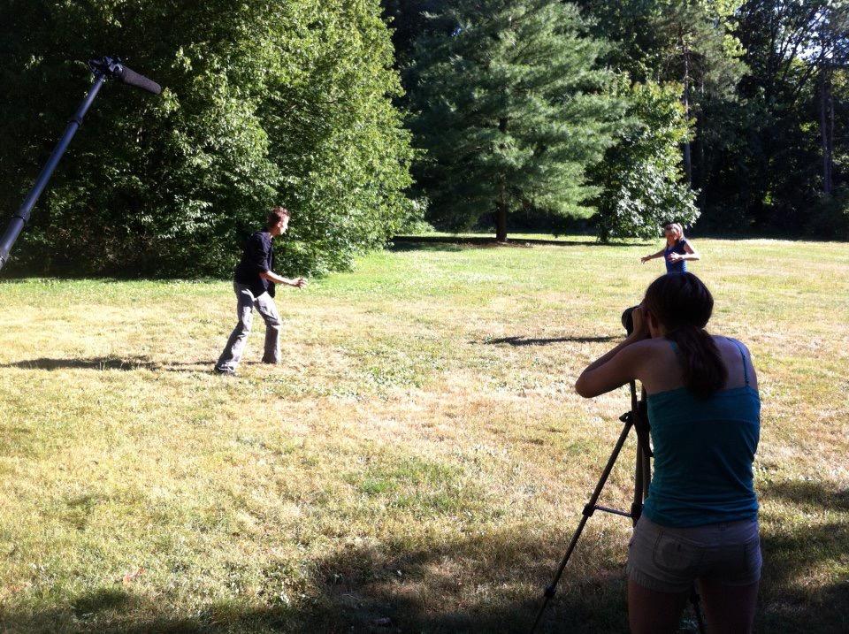Film Shoot - Wizard Duel