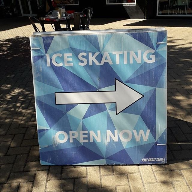 Summer ice skating! #happyholidays #marlboroughnz #StudyinNZ