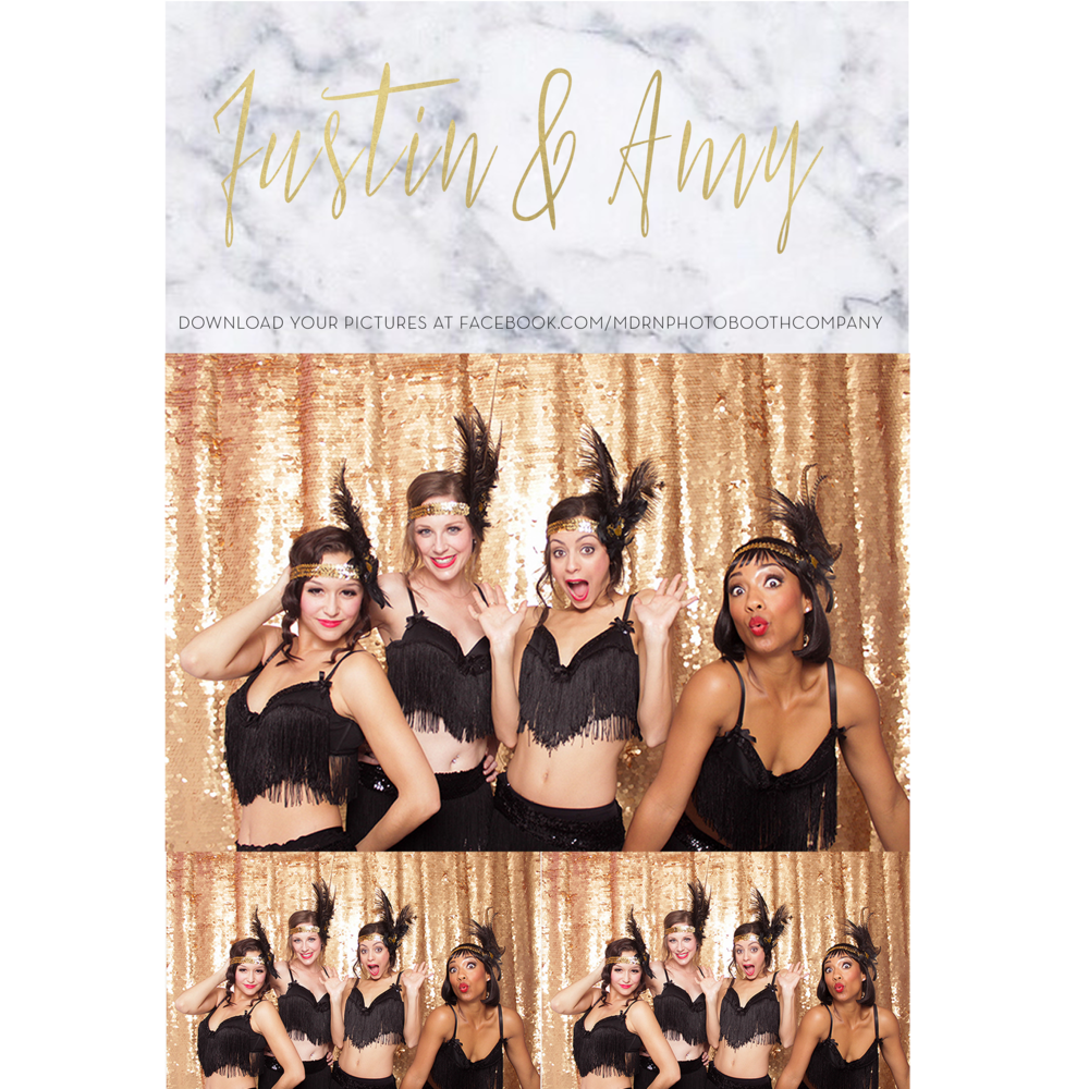 MARBLE AND GOLD WEDDING PHOTO BOOTH TEMPLATE OTTAWA TORONTO