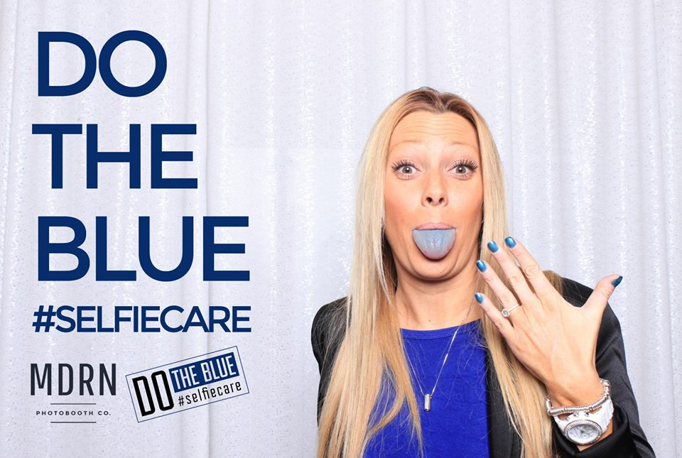 "A MDRN Time At ""Do the Blue"" Fundraiser Event For Women's Health"