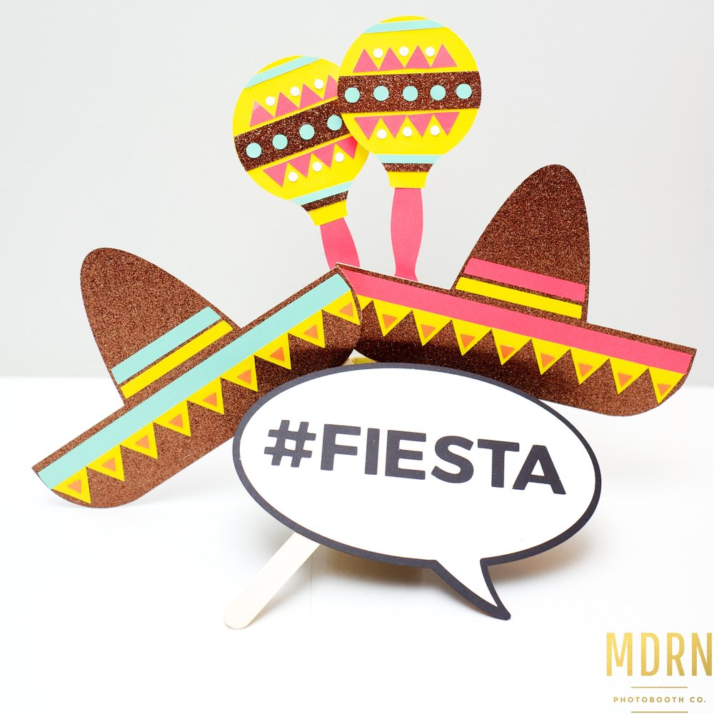 Mexican Themed Props
