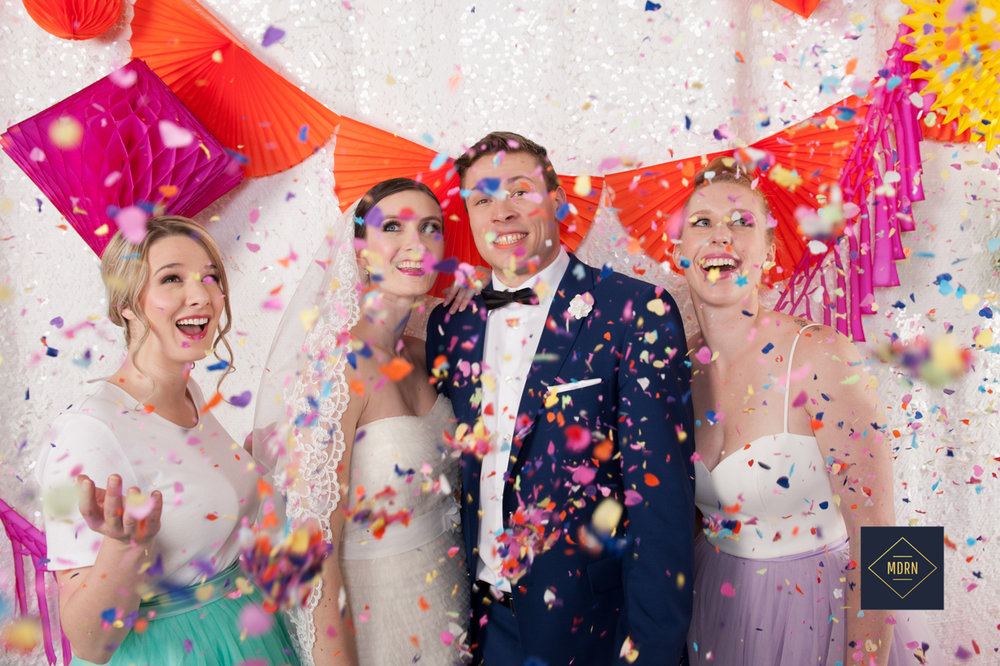 Confetti Photo booth