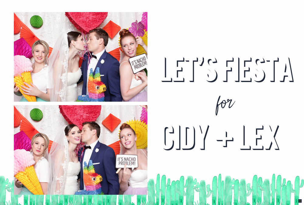 Fiesta Wedding photo booth