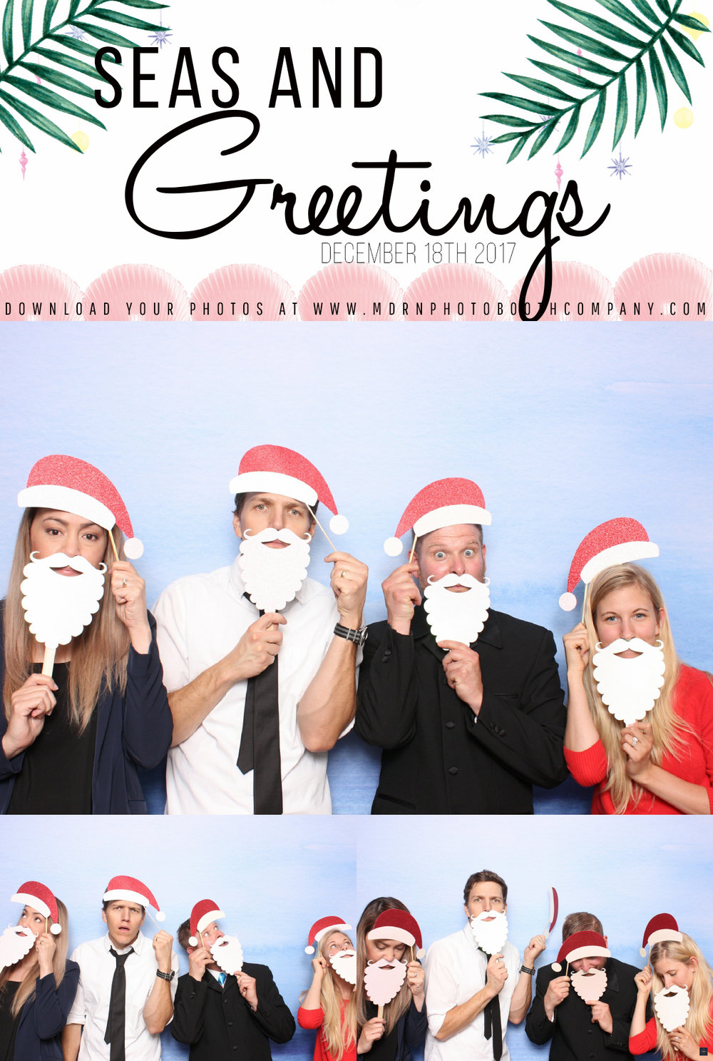Ottawa Christmas Party Photo Booth