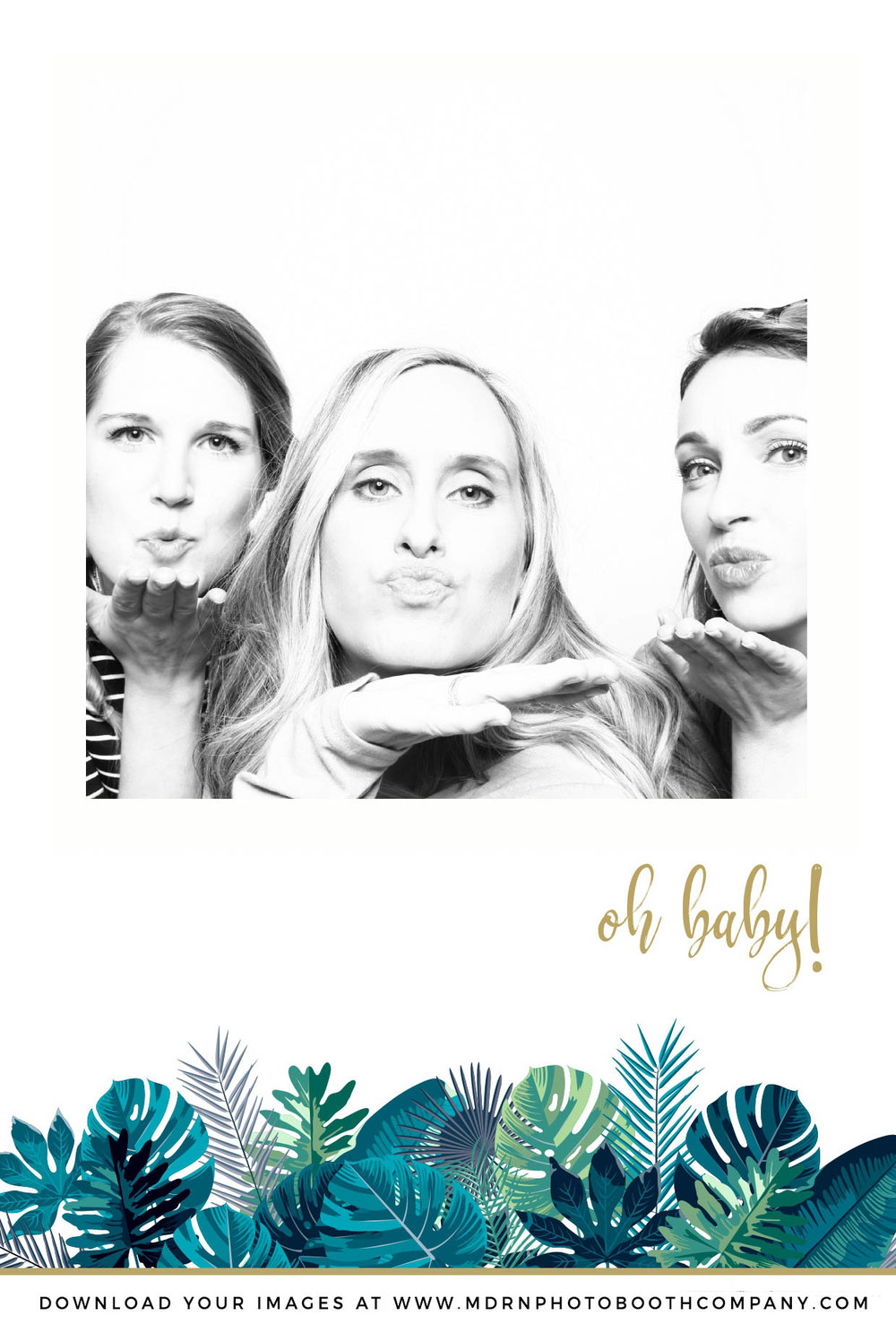 baby shower - toronto photo booth