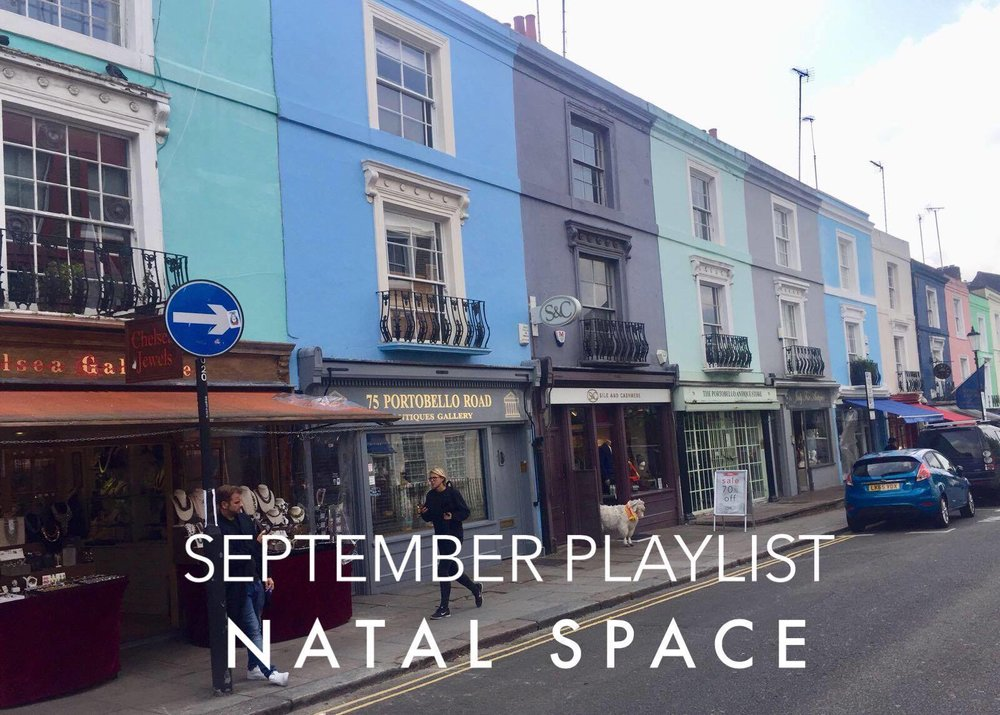 September Playlist Fall has arrived.