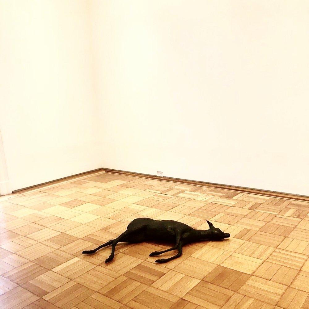 Rosemarie Trockel,  Creature of Habit (Deer) , 1992