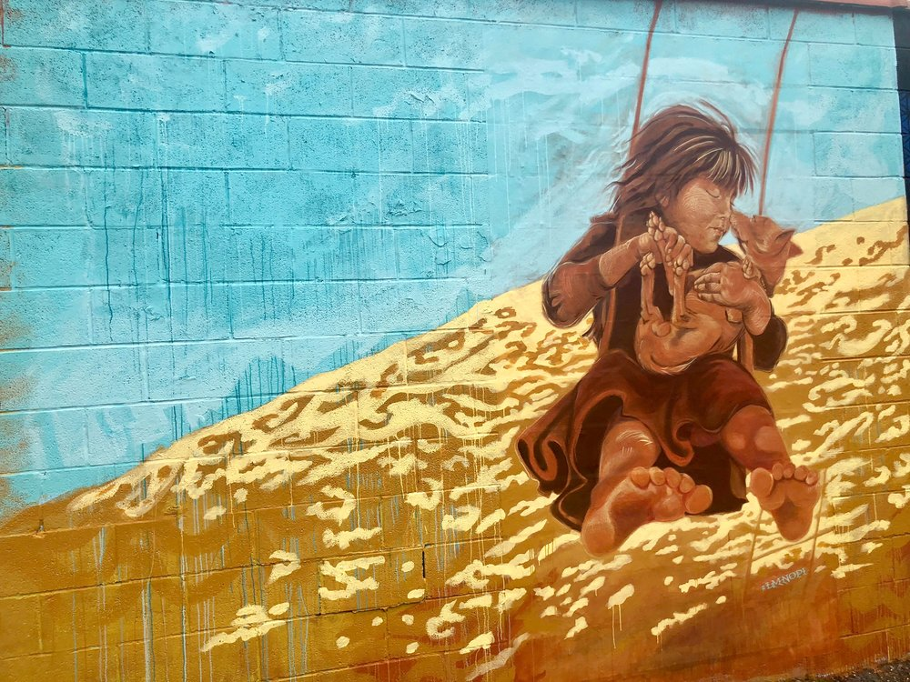 Welling Court Mural Project - For the love of Street Art.