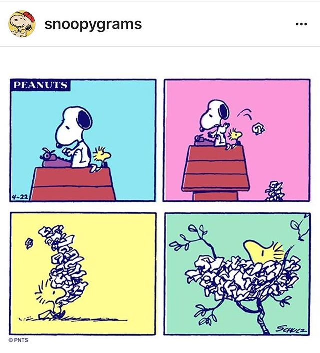 Writers recycle ♻️ Take care of our planet. Happy Earth Day 🌏 #earthday2018 #recycler #snoopydog #writinglife #rosetheatrecompany #therosetheatreco #dotherightthing #loveearth #begoodtoeachother #bekindtoothers #kindnessmatters #earthlover #snoopygram #recycleeverything #onemanstrashisanothermanstreasure #onemanstrash #firstdraftdc