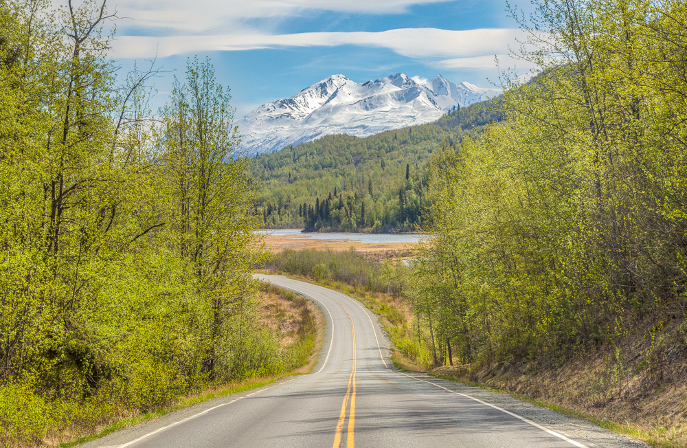 Knik River Road, Palmer, Alaska