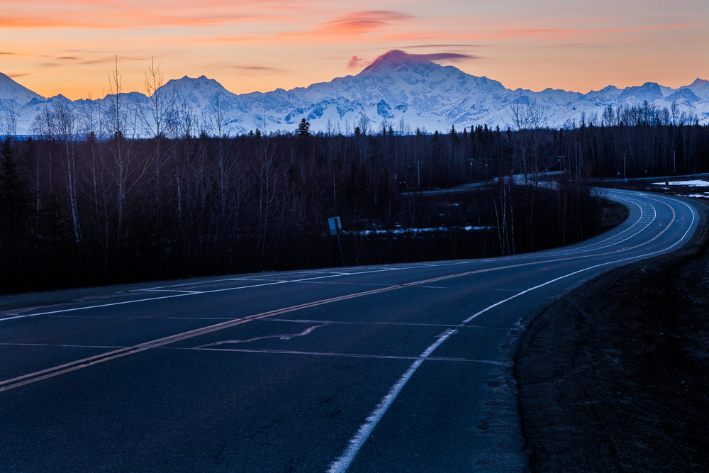 Talkeetna Spur Road - with Denali in the background