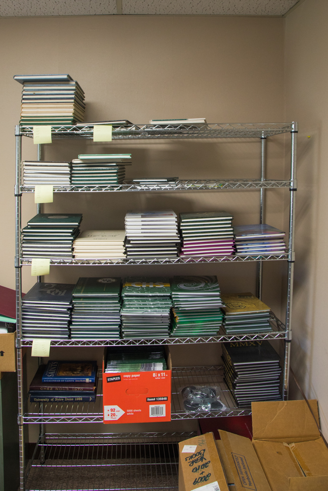 Lots of yearbooks