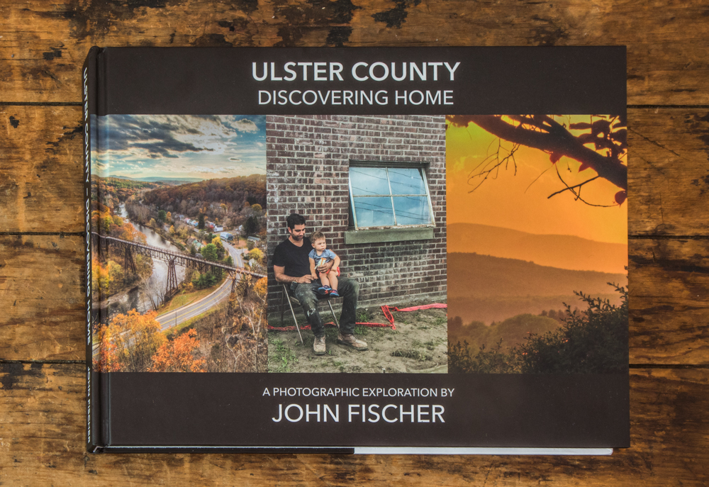 My first book! - Ulster County - Discovering Home A Photographic Exploration by John FischerAvailable now for $40Fewer than 350 copies left