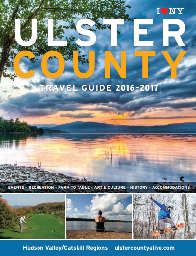 Cover of 2017 Ulster County Travel Guide