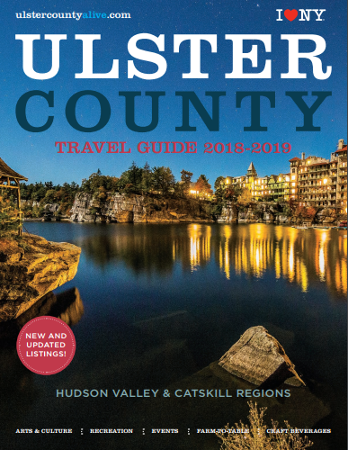 Cover of 2018 Ulster County Travel Guide