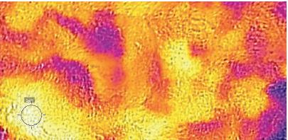 SAND Outdoor temperature: 92F Temperature of sand under cow: 97F