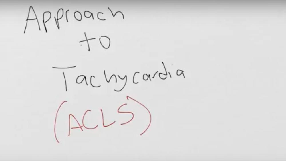 Approach to Narrow Complex Tachycardia
