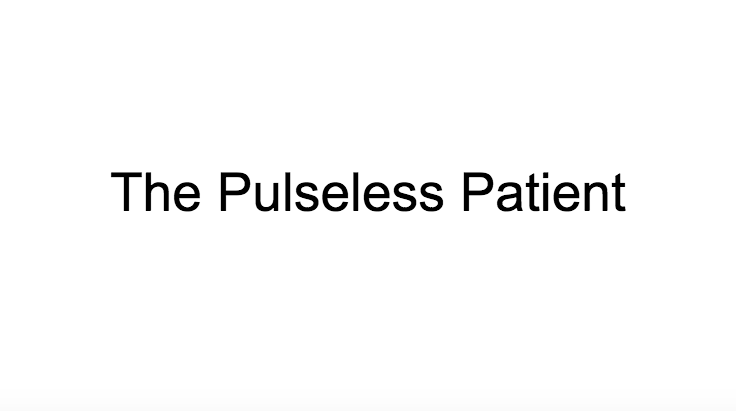 The Pulseless Patient