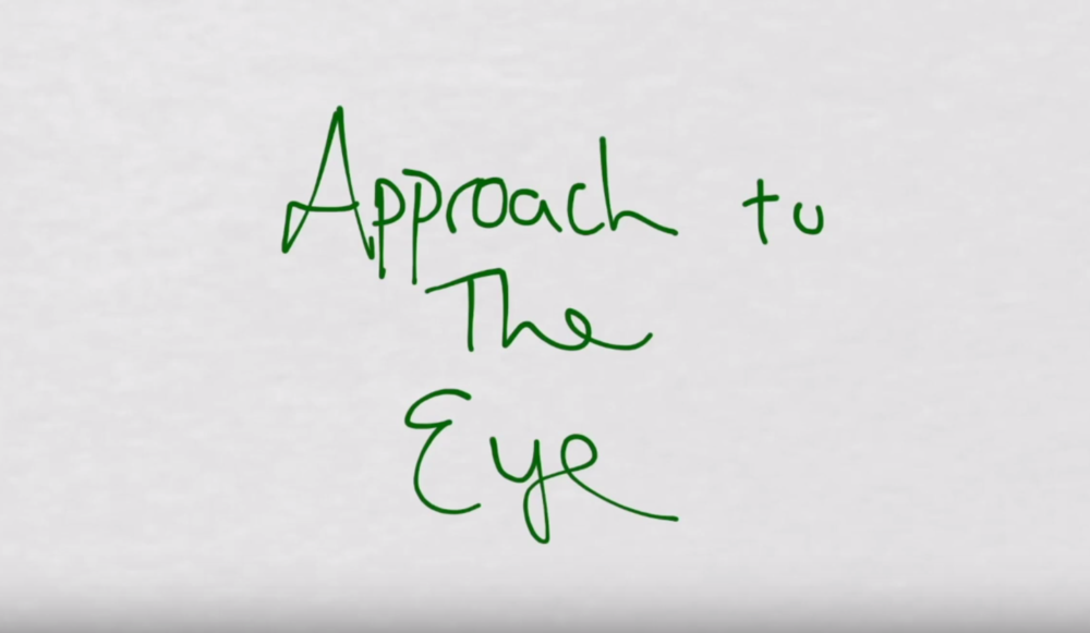 Approach to the Eye