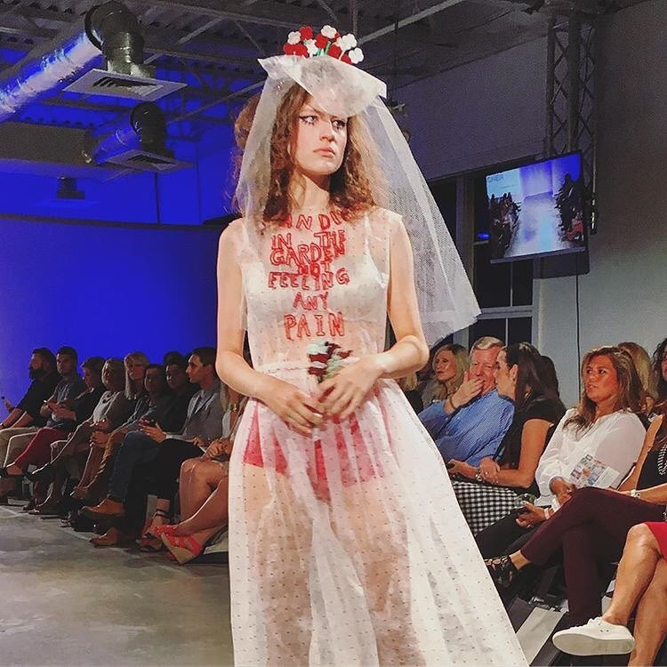 """5. The clothing   It seems obvious, but these emerging designers are nothing to scoff at.  Ricky Lindsay's whimsical, butterfly-inspired gowns took my breath away. I was also impressed with Sloane Lenz's visionary collection. It was edgy, vintage and plain cool.""  http://www.waltonsun.com/news/20161007/5-things-you-missed-at-south-walton-fashion-week-on-thursday-night-videos"