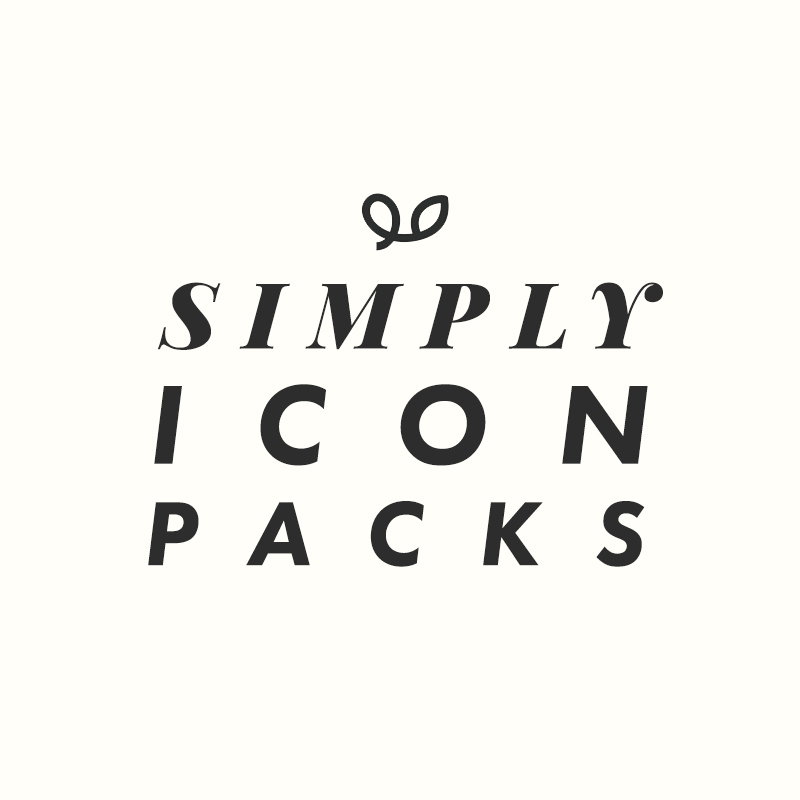 Simply Icon Packs logo