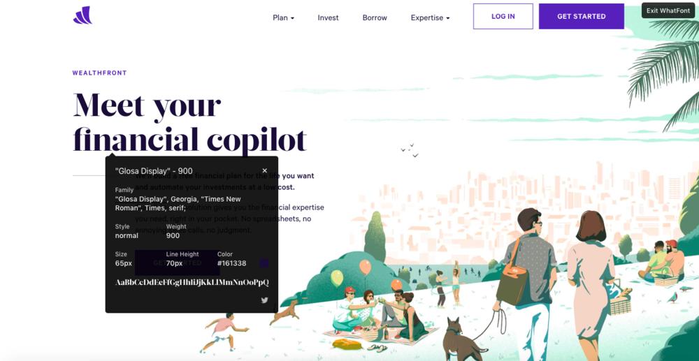 WhatFont extension Free design resources for freelances