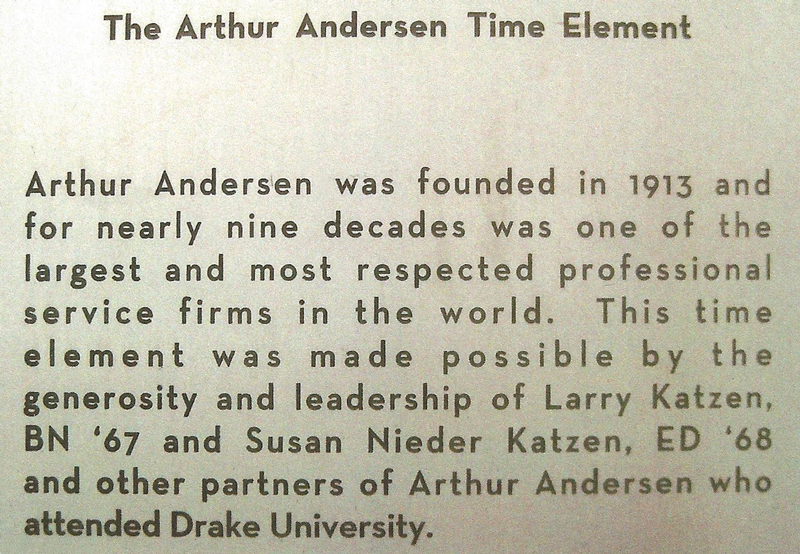 The Arthur Andersen Time Element