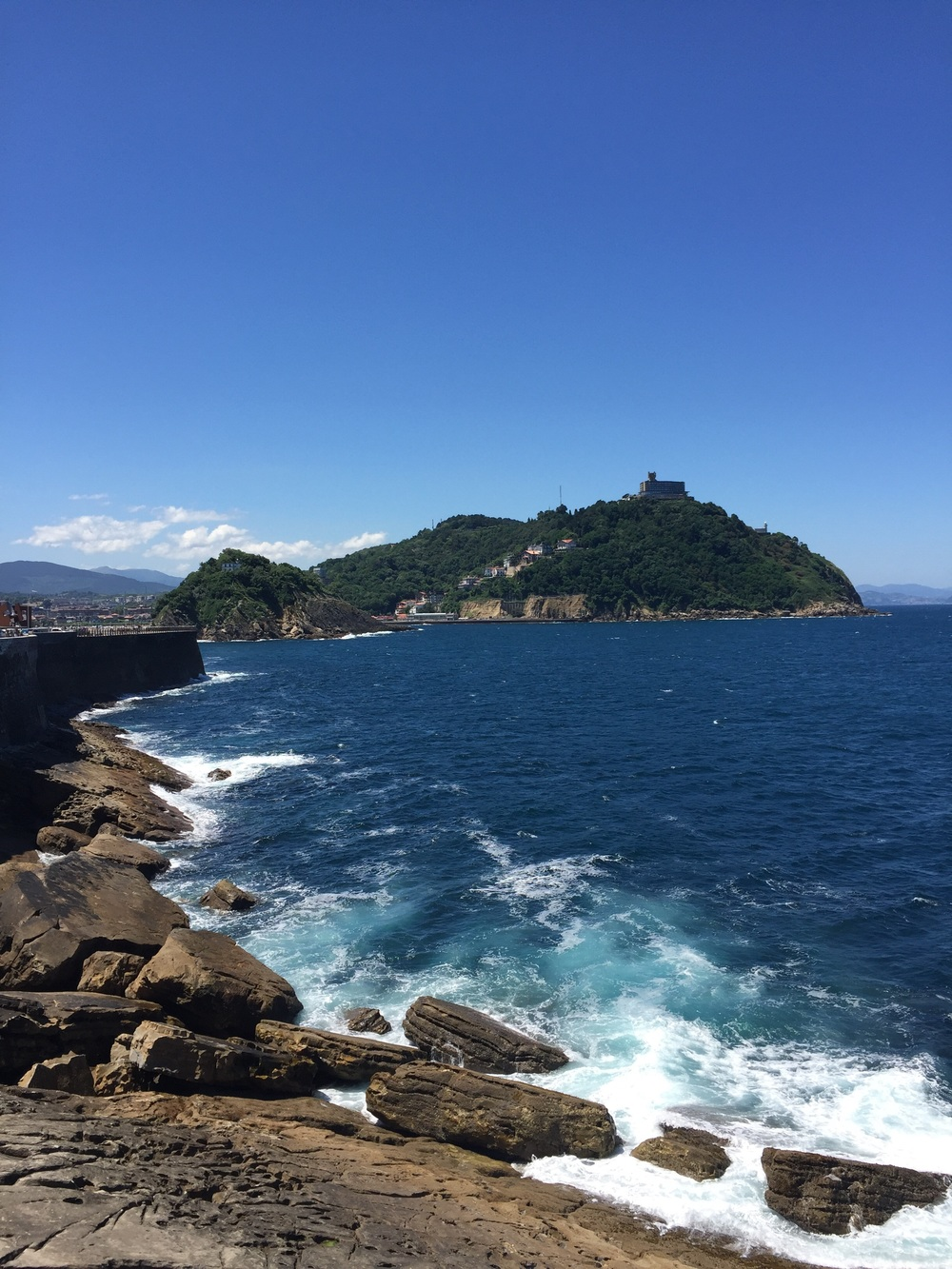 One of the beautiful views in San Sebastian. There is plenty.
